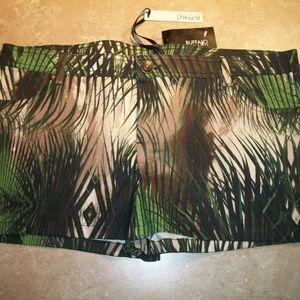 Buffalo David Bitton Palm Skies Print Shorts 29